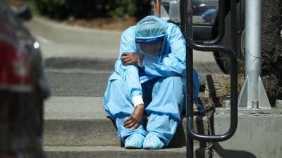 Florida'da 1 günde 15 bin koronavirüs vakası