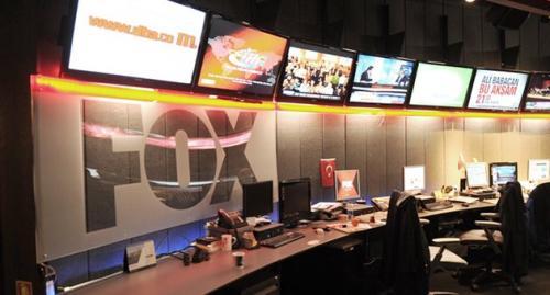 Fox TV aracına taşlı saldırı!