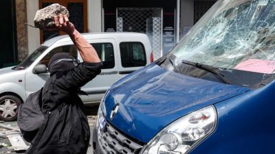 Fransa'da 1 Mayıs gösterilerinde çatışma: En az 160 gözaltı