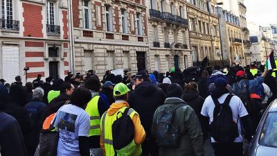 Fransa'da 'Sarı Yelekler' eylemleri 57'nci haftasında
