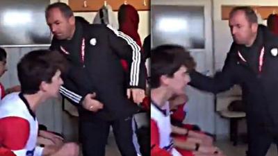 Futbolculara tokat atan antrenöre 1035 gün hak mahrumiyeti ve 8 maç men cezası