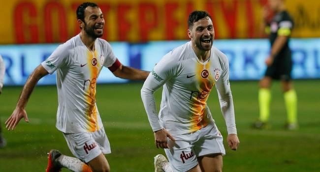 Galatasaray İzmir deplasmanından 3 puanla döndü