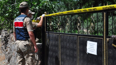 Gaziantep'te 31 kişinin yaşadığı 8 ev karantinaya alındı