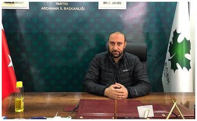 Gelecek Partili Celil Toprak, eşinin burnunu kırdığı iddiasıyla tutuklandı