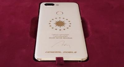 General Mobile Erdoğan'a özel telefon üretti