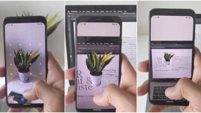 Gerçek nesneleri cep telefonunuzla kopyalayıp bilgisayarınıza yapıştırmanızı sağlayan program yapıldı