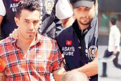 Gezi Parkı eylemlerindeki palalı saldırgan başka bir suçtan tutuklandı