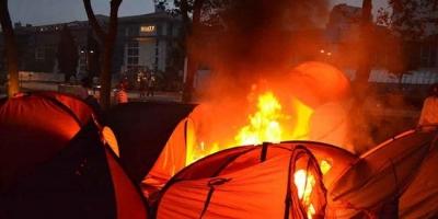Gezi Parkı'nda çadır yaktıran müdüre 10 ay hapis