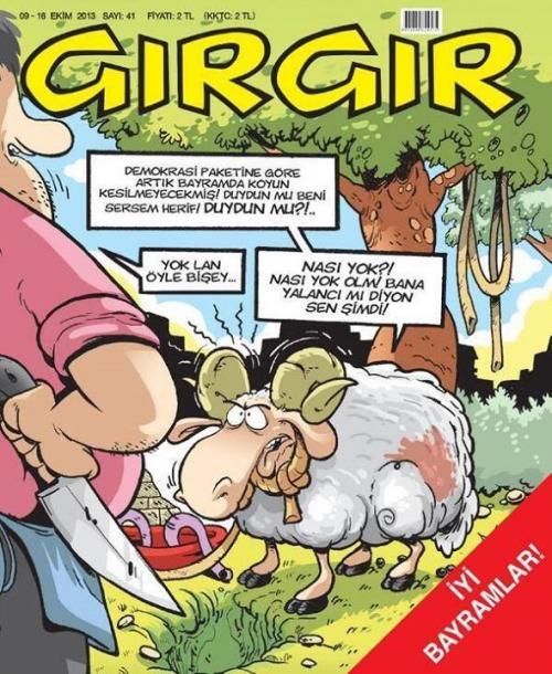 Gırgır'dan demokrasi paketine ince gönderme!