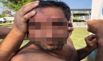 Gizlice kadınların fotoğrafını çeken kişi yakalandı!