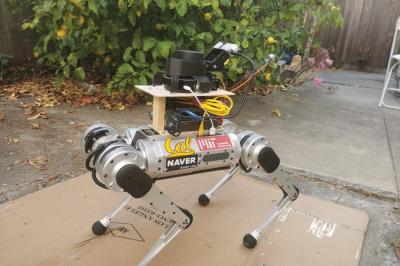 Görme engellilere eşlik edecek robot rehber köpekler geliştirildi