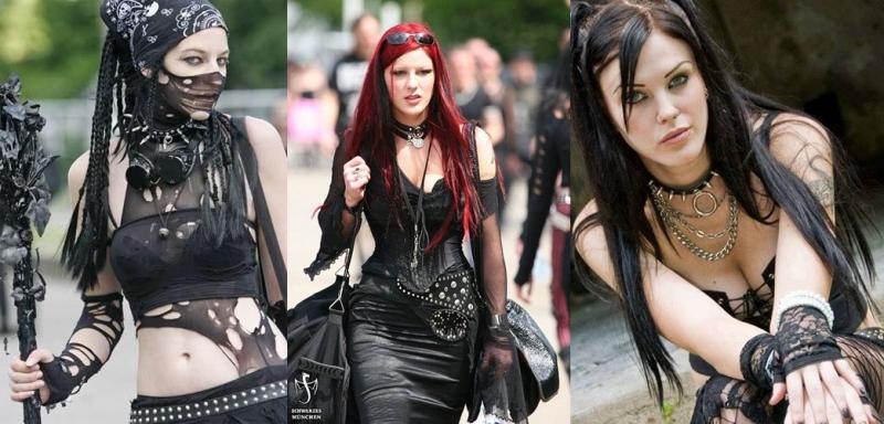 Gotik kadın metroya alınmadı! 'Makyajınızı silin!...