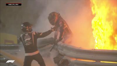 Grosjean: Halo'yu desteklememiştim ama hayatımı kurtardı