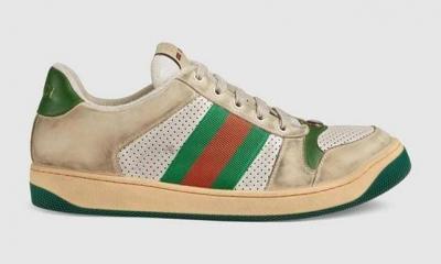 Gucci, kirli görünümlü ayakkabıları 4 bin 600 liraya satışa çıkardı