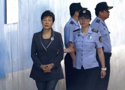 Güney Kore eski devlet başkanına 25 yıl hapis