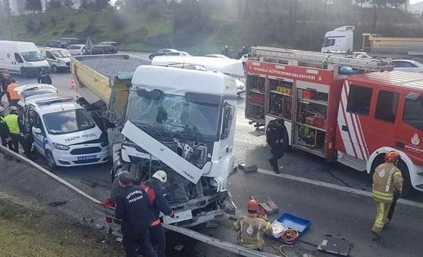 Hafriyat kamyonları 4 ayda 67 kazaya karıştı!