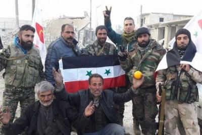 Halep'in tamamı kurtarıldı!