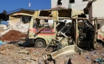 Halep'te hastane vuruldu!