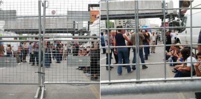 Halk YSK önünde toplanmaya başladı! Polis 'Burada beklemeyin anonsu' geçiyor...