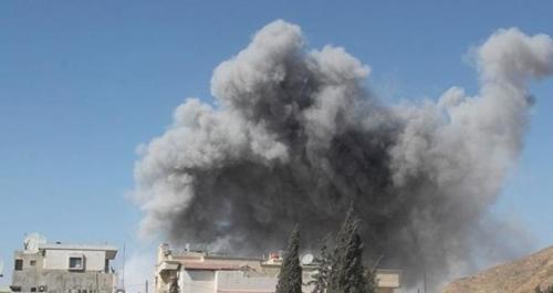 Şam'da havan topu saldırısı: 12 ölü!