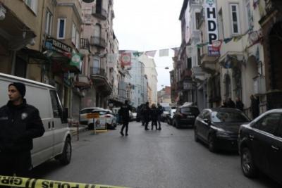 HDP il binası önünde ateş açan kişi tutuklandı