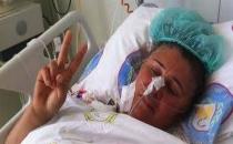 HDP mitinginde yaralanan kadın barajın geçilmesini kutladı!