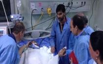 HDP Zergele'de yaralananları ziyaret etti!