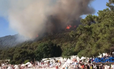 Heybeliada'daki yangınla ilgili 3 kişi gözaltına alındı