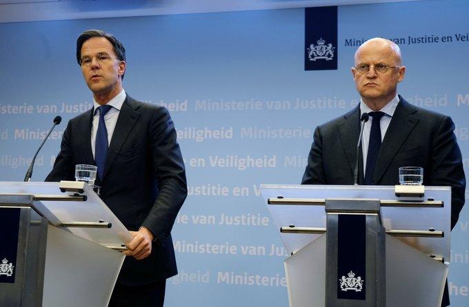 Hollanda Başbakanı Rutte: Fail ya da failleri bulmaya odaklandık