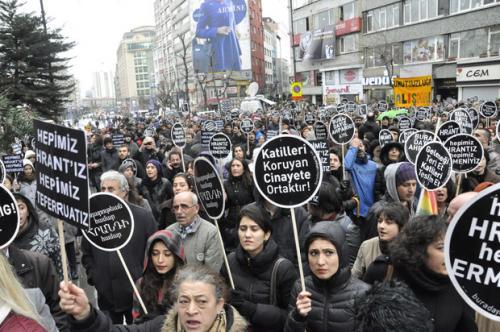 Hrant Dink anmasında silah!