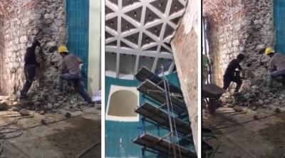 İBB'den Galata Kulesi'ndeki yıkım için suç duyurusu