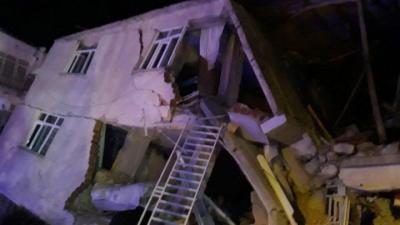 İçişleri Bakanı Süleyman Soylu: 15 kişi hayatını kaybetti, 30 kişi enkazda