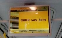 İETT sitesi ve ekranları hacklendi! Ekber was here...