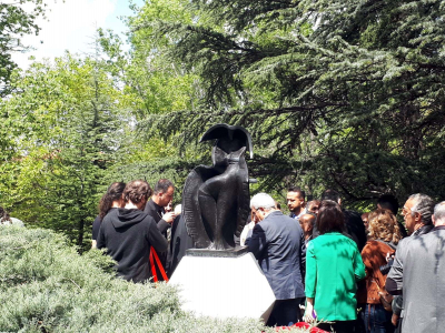 İlhan Koman heykeli, tekrar Seğmenler Parkı'nda