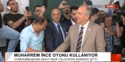 İnce oyunu kullandı: 'Ankara'ya gideceğim, seçimi YSK'da izleyeceğim'