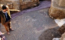 İnşaat alanında Roma dönemine ait mozaikler bulundu!