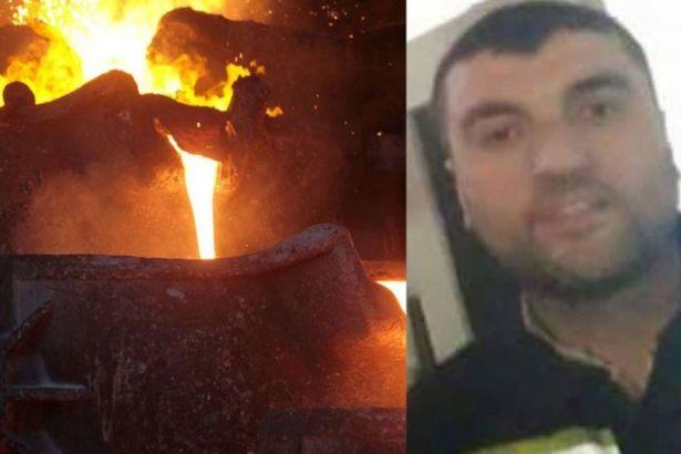 İşçi 1600 derecelik çelik eritme kazanına atlayarak intihar etti