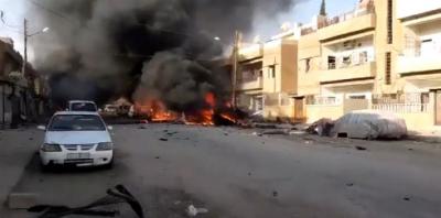 IŞİD, düzenlenen bombalı araç saldırısını üstlendi