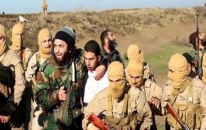 IŞİD'in yaktığı pilottan Türkiye iddiası!