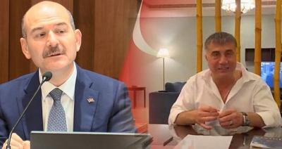 Süleyman Soylu'dan Sedat Peker hakkında suç duyurusu
