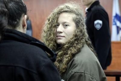 İsrail askerini tokatlayan Ahed Tamimi'den taciz davası