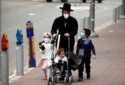 İsrail'de koronavirüs nedeniyle sokağa çıkma yasağı