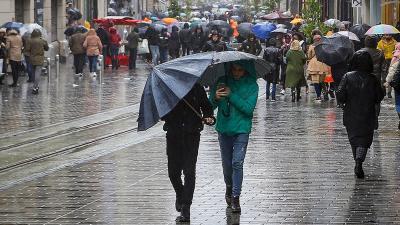 İstanbul'a yağmur geliyor