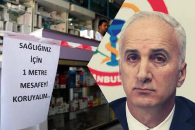 İstanbul'da 14 eczane çalışanında koronavirüs