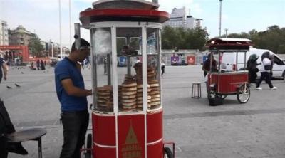 İstanbul'da simide zam
