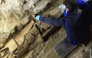 İstiklal Caddesi'nin altından Roma mezarlığı çıktı!