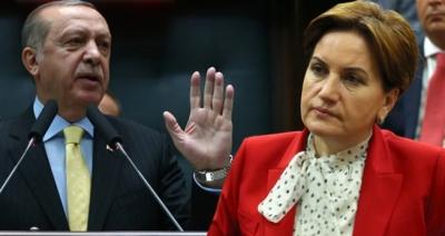 İYİ Parti: Meral Akşener, Erdoğan'ı 5 puanla geçer, kongre afişlerimiz yırtıldı