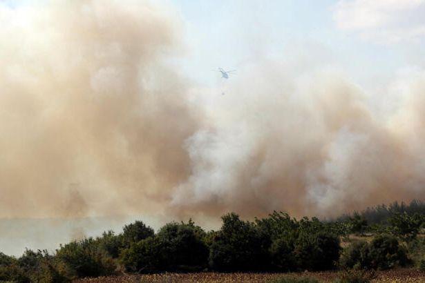 İzmir ve Keşan yanıyor!