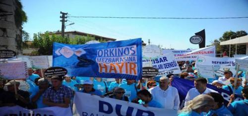 İzmir'de Orkinos eylemi!