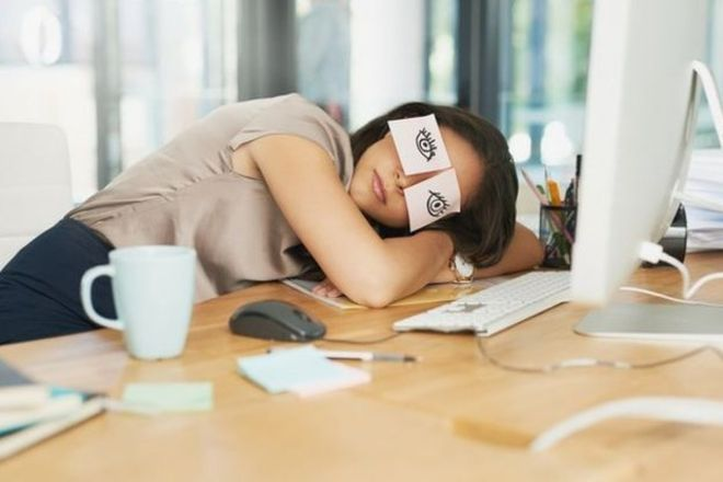 Japonya'da çalışanlar 'uyku molası' veriyor